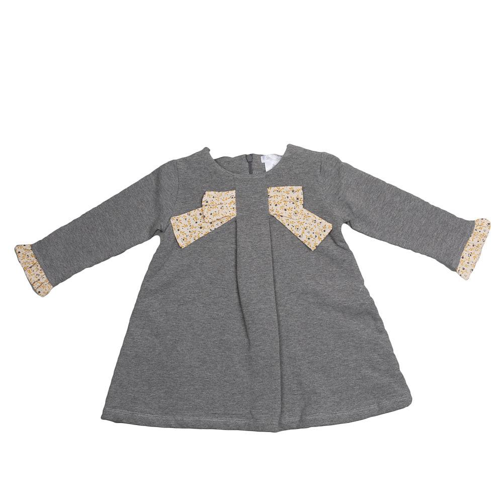 Deolinda grijs meisjes jurkje