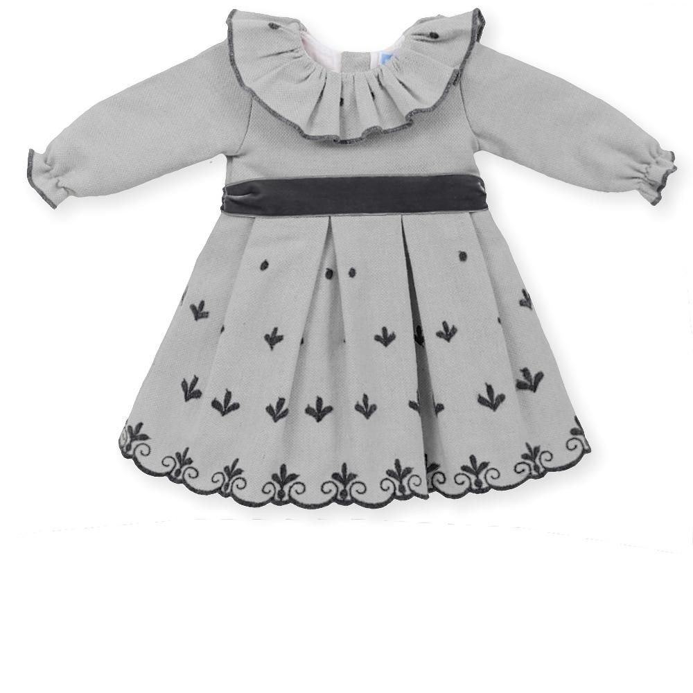 grijze jurk van mac ilusion