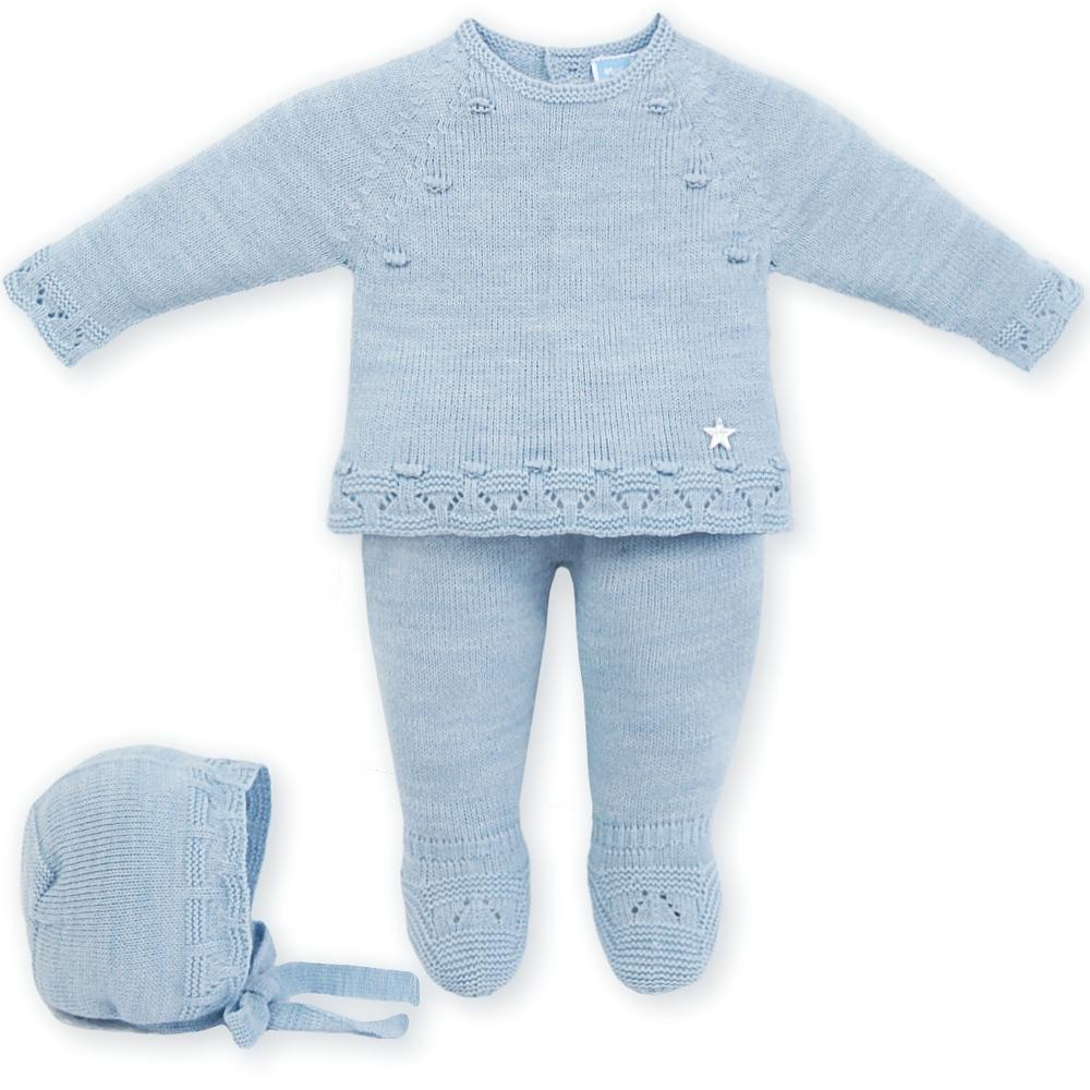 licht blauw babypakje van Mac ilusion