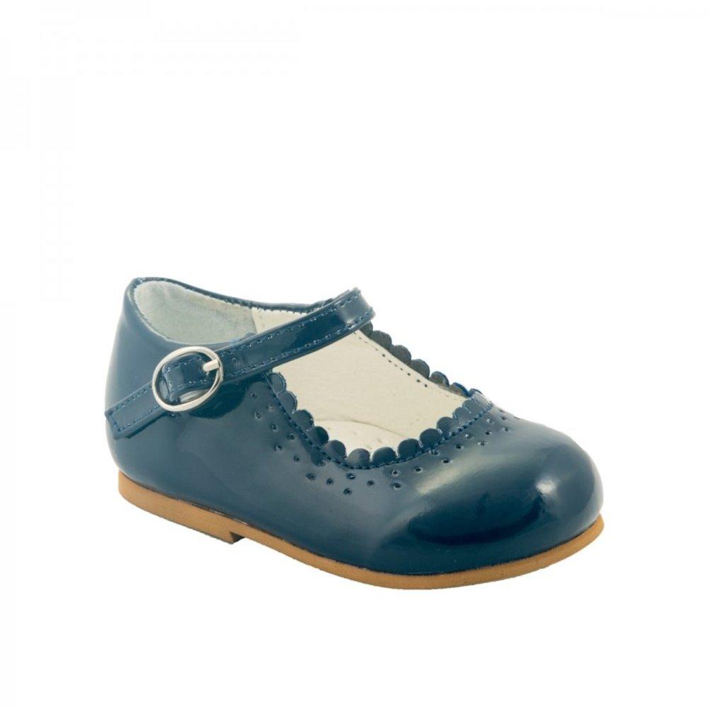 Blauwe ballerina schoentjes