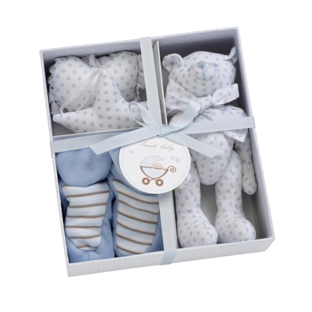 Mooie gift box licht blauw