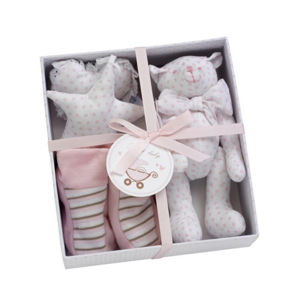 Mooie gift box licht roze