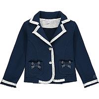 Donkerblauw jasje van Adee