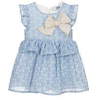 Dr.kid blauw jurkje
