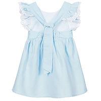 licht blauw meisjes jurkje van babidu