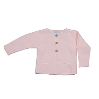 Licht roze basic vestje van Mac ilusion