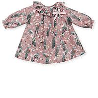 Oud roze pauwen jurkje van Mac ilusion