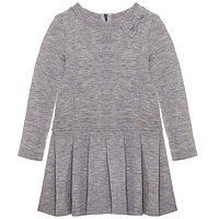 Patachou grijs gemeleerde jurk