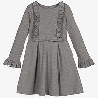 Patachou grijze meisjes jurk