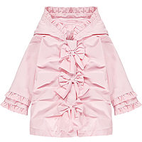 Roze jas met strikken van Little A