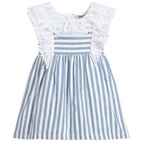 Gestreept meisjes jurk van Dr.kid