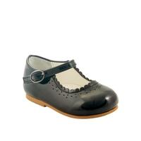Zwarte ballerina schoentjes